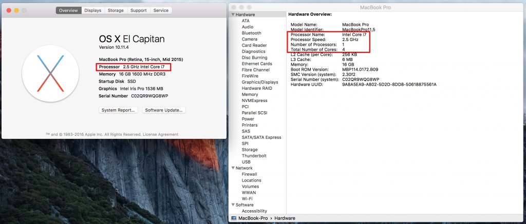 How to Find Your Mac's Exact CPU Model