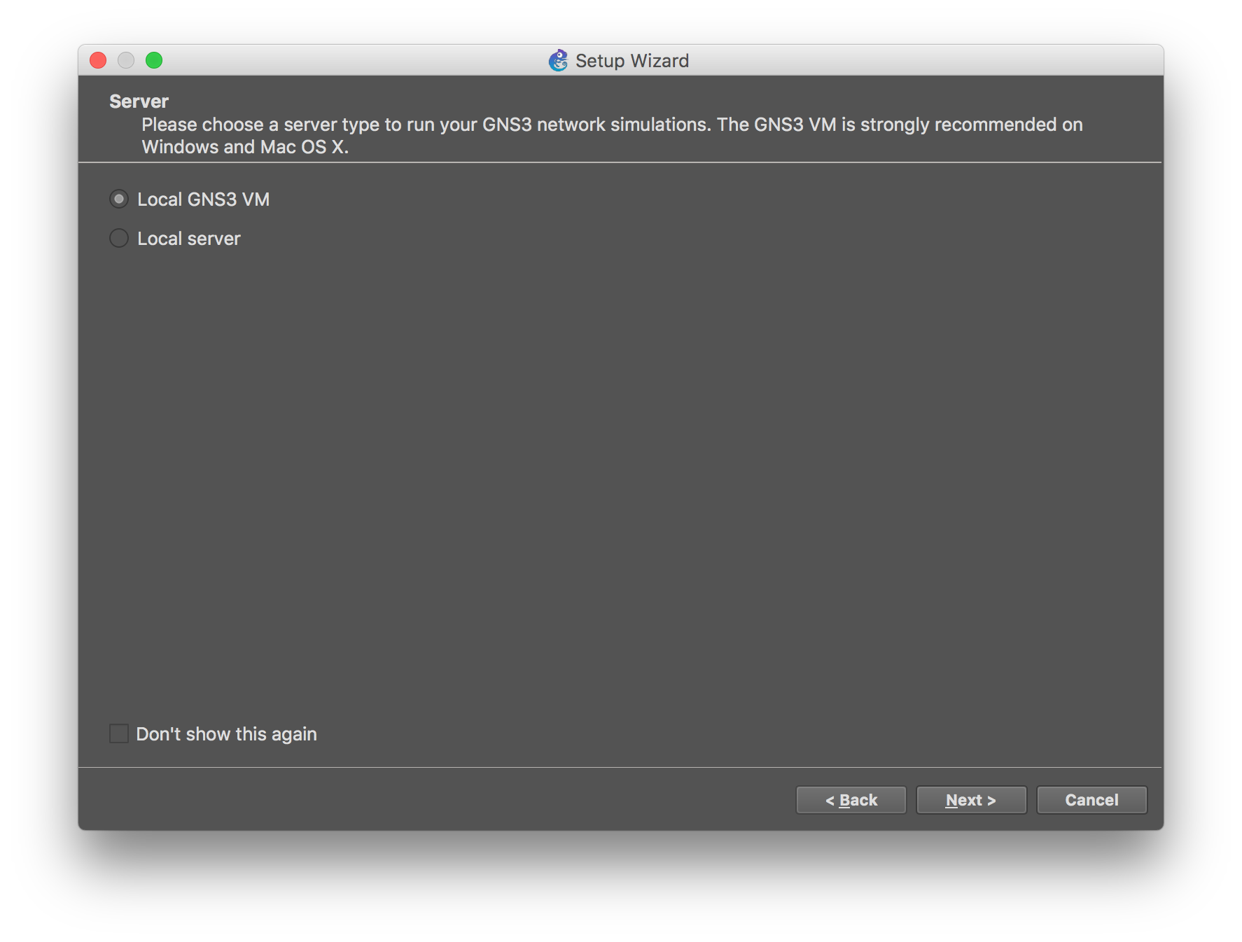 Using OpenSwitch Appliance With GNS3 - MacDeveloper